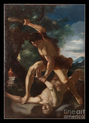 Cain Painting - Cain And Abel by Celestial Images