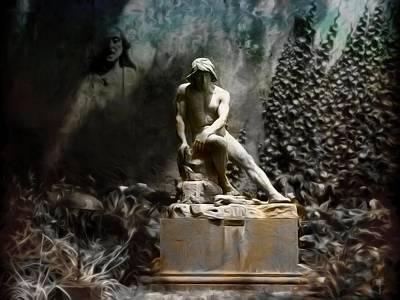 Cain In Tones Of Gray  Original
