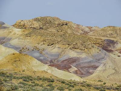 Photograph - Caineville Badlands Utah by NaturesPix