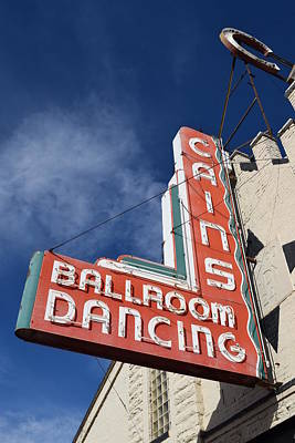 Cains Ballroom Photograph - Cain's Ballroom 1 by Timothy Smith