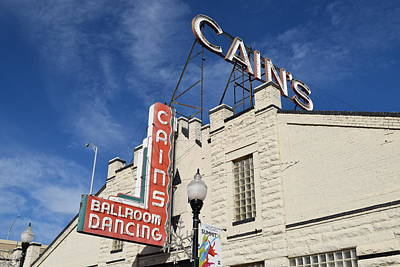 Cains Ballroom Photograph - Cain's Ballroom 2 by Timothy Smith