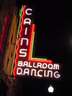 Cains Ballroom Photograph - Cain's Ballroom 3 by Timothy Smith