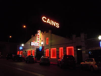 Cains Ballroom Photograph - Cain's Ballroom 5 by Timothy Smith