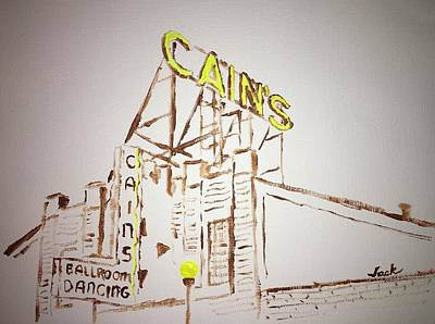 Cains Ballroom Painting - Cain's by Jack Bunds