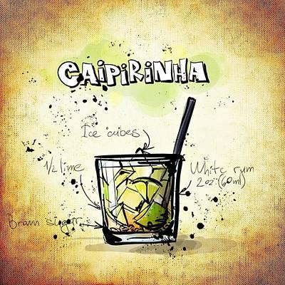 Drunk Mixed Media - Caipirinha by Movie Poster Prints