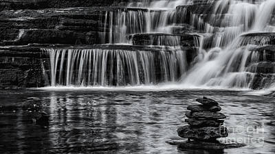 Photograph - Cairn And Falls by Brad Marzolf Photography