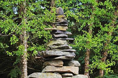 Photograph - Cairn For A Wilderness Songstress by Michiale Schneider