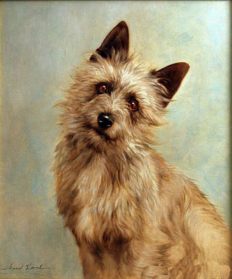 Photograph -  Cairn Terrier Painting by Allen Beilschmidt