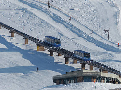 Photograph - Cairngorm Funicular Railway by Phil Banks