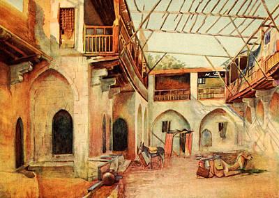 Photograph - Cairo Market 1912 by Munir Alawi