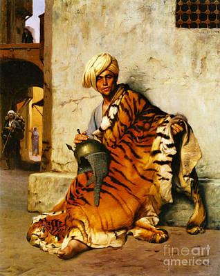 Cairo Pelt Merchant 1869 Art Print
