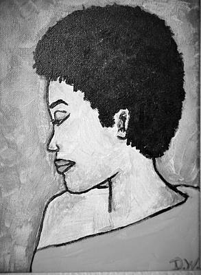 Photograph - Caisee In Black And White by Deedee Williams
