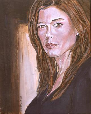 Painting - Caitlin Keats by Bryan Bustard