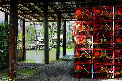 Photograph - Cajun Cages by Laura Ragland