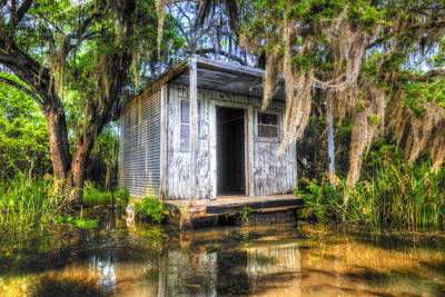 Photograph - Cajun Castle by Andy Crawford
