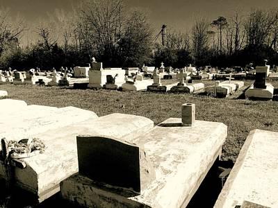 Photograph - Cajun Country Graveyard #1,la. by Robin Lewis