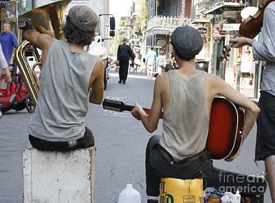 Photograph - Cajun Street Music by Wilko Van de Kamp