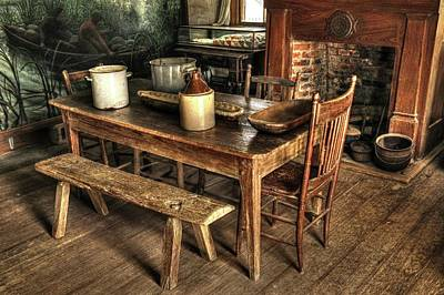 Photograph - Cajun Table by Ronald Olivier