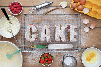 Photograph - Cake by Tim Gainey