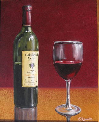 Cakebread Painting - Cakebread by Patrick ORourke