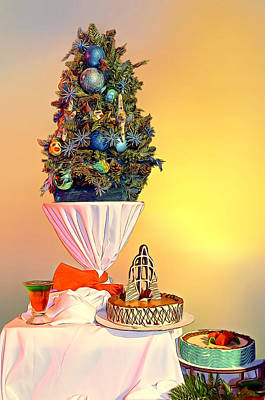 Photograph - Cakes For Christmas by Maria Coulson