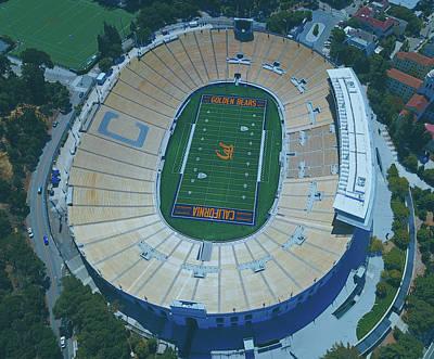 Photograph - Cal Memorial Stadium by Unsplash