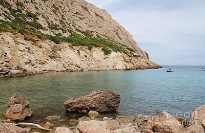 Photograph - Cala Boquer In Majorca by David Fowler