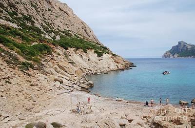 Photograph - Cala De Boquer Beach On Majorca by David Fowler