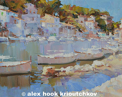 Painting - Cala Figuera Xiii by Alex Hook Krioutchkov