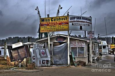 Corky Willis And Associates Atlanta Photograph - Calabash Bait Shop by Corky Willis Atlanta Photography