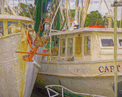Photograph - Calabash Boats by Larry Bishop