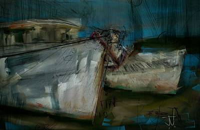 Digital Art - Calabash Harbour by Jim Vance