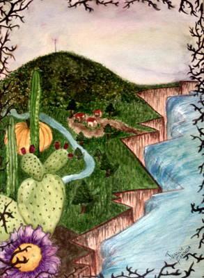 Calabazas Art Print by Jessica  De la Torre
