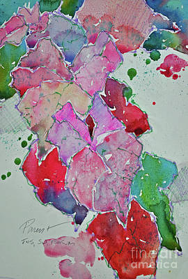 Painting - Caladium  by Roger Parent