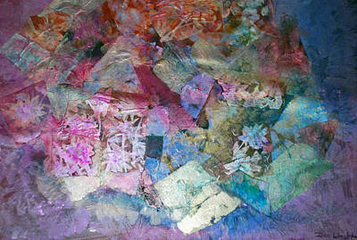 Pearlescent Mixed Media - Calamity by Don  Wright