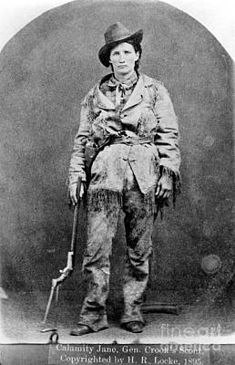 Photograph - Calamity Jane (1852-1903) by Granger