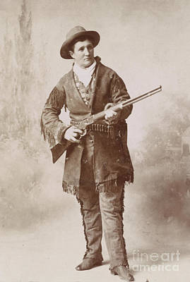 Fringe Jacket Photograph - Calamity Jane, American Frontierswoman by Science Source