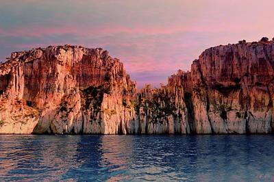 Photograph - Calanques De Marseille .  by Jean Francois Gil