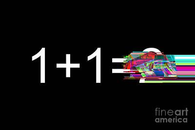Digital Art - Calculation Glitch by Igor Kislev