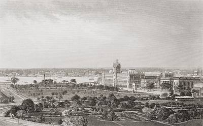 Calcutta, India, From A 19th Century Art Print by Vintage Design Pics