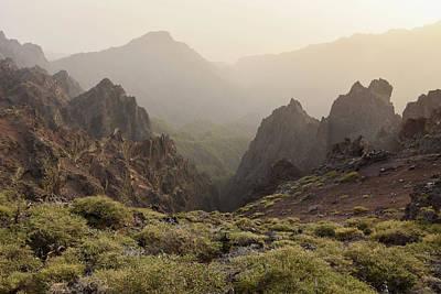 Photograph - Caldera De Taburiente La Palma Canary Islands by Marek Stepan