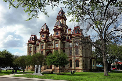 Photograph - Caldwell County Courthouse by Ricardo J Ruiz de Porras