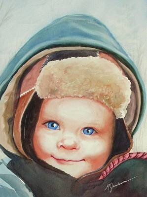 Caleb Art Print by Marilyn Jacobson