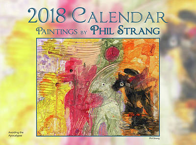 Mixed Media - Calendar 2018. by Phil Strang