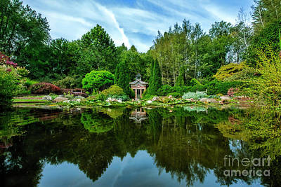 Photograph - Calendar Garden New Paris Indiana by David Arment