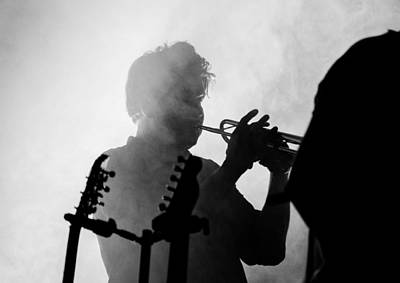 Photograph - Calexico Live - In The Shadows by Andrea Mazzocchetti