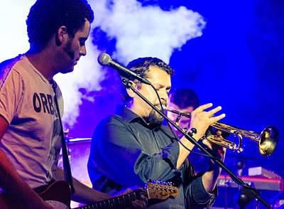 Photograph - Calexico Live - Jairo Zavala 10 by Andrea Mazzocchetti