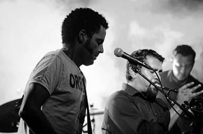 Photograph - Calexico Live - Jairo Zavala 11 by Andrea Mazzocchetti