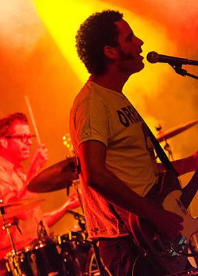Photograph - Calexico Live - Jairo Zavala 6 by Andrea Mazzocchetti