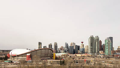 Photograph - Calgary, Alberta by Josef Pittner